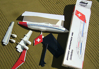 Maquette AVION CROSSAIR BRITISH AEROSPACE 146 JUMBOLINO 1/150 19.5CM IMC+BOITE