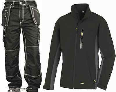 TEXXOR - Worker Canvas Bundhose Arbeitshose + Softshelljacke