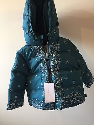 Burberry Baby 100% Down Filled Puffer Jacket Coat 2 Years 92 Cm  BNWT RRP £195