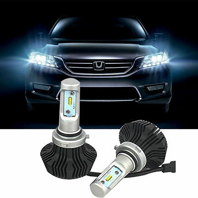50W 8000LM 9006 HB4 Car LED Headlight Kit 6500K White Bulbs High Power 1 pair
