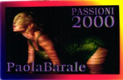 2524 Scheda Telefonica Phonecard Paola Barale Passion 2000