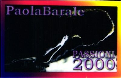 2526 Scheda Telefonica Phonecard Paola Barale Passion 2000