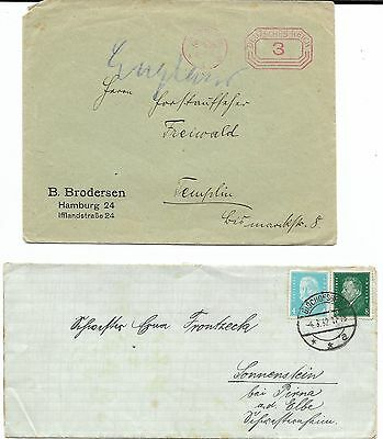 Collection of 88 German Covers, Early 1900s