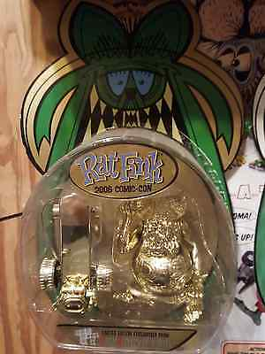 "My opinion, HardestTF* 2006 Ed ""BIG DADDY"" Roth's RAT FINK RAT-A-TUDE skaterGOLD"
