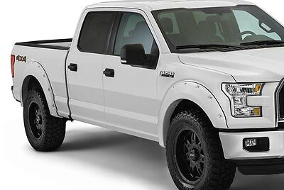 2015-2018 Ford F150 Painted OEM Color Matched Fender Flares Pocket Rivet Style