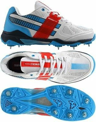 2017 Gray Nicolls GN500 Flexi Spike Cricket Shoes Size UK 7 & 12
