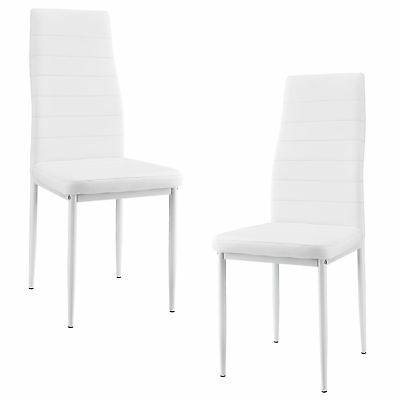 2er set k chenstuhl cappuccino esszimmerstuhl h henverstellbar aus kunstleder eur 64 90. Black Bedroom Furniture Sets. Home Design Ideas