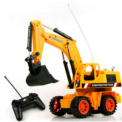 1PCS Full Functional Excavator Electric Rc Remote Control Construction