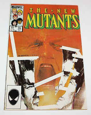 New Mutants #26--1rst Full Appearance of Legion-1985 Marvel Comic Book X-men