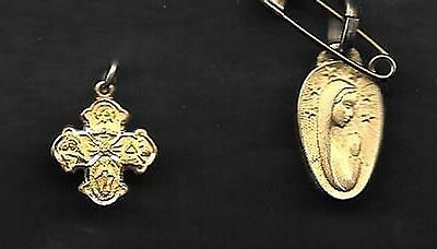 Lot Of Two Tiny  Religious Charms