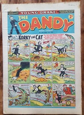 DANDY Comic No. 644 ~ 27th March 1954 ~ Golden Age ~ ideal birthday present