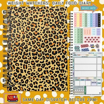 food diary diet slimming world compatible tracker journal book log *Good Vibes!*