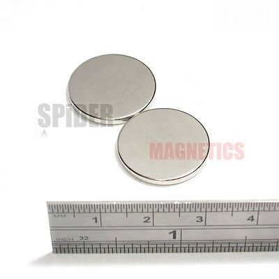 Strong Magnets 20x2 mm Neodymium Disc round craft magnet 20mm dia x 2mm fridge