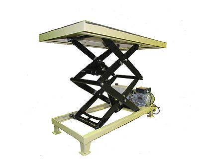 Custom size Top Electric Hydraulic Lift Table 1500 LBS, Welding Table
