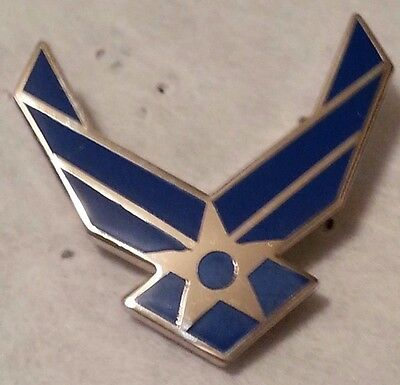 United States Air Force New Logo II Lapel Pin  1 Inch Pin