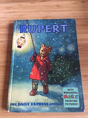 Superb Vintage Original 1960 Rupert Bear Annual, Unscribed/price Unclipped 6/