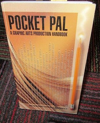 Pocket Pal - A Graphic Arts Production Handbook, 1994 Paperback, 15Th Edition
