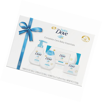 Baby Dove Complete Care Baby Essentials, Gift Set 4 pc