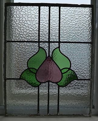 Leaded light stained glass window panel. R499. NATIONWIDE DELIVERY