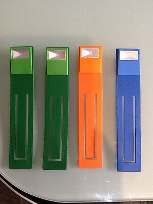 4 X Portable Flexible Folding LED reading Light Suitable For Book And Kindle