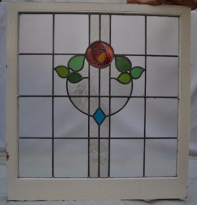 Large British leaded light stained glass window. R509b. WORLDWIDE DELIVERY!!!