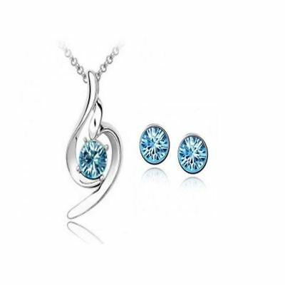 fashion jewelry necklaces pendants earrings + necklace set