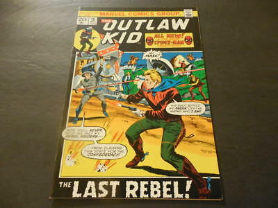 Outlaw Kid #13 December 1972 Bronze Age Marvel Comics Uncirculated       ID:9700