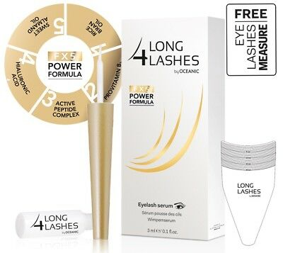NEW Long 4 Lashes FX5 POWER FORMULA Eyelash GROWTH Enhnacing Serum 3ml