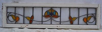 Leaded light stained glass window. R316. WORLDWIDE DELIVERY!!!