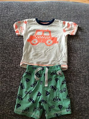 Lovely !! Set Of X 3 Baby Boy Pajamas From Next Age 9-12 Months