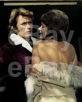 Play Misty For Me (1971) Clint Eastwood, Jessica Walter 10x8 Photo