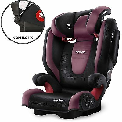 Recaro Monza Nova 2 carseat 3 -12 years car seat & Recaro foot rest base Seatfix