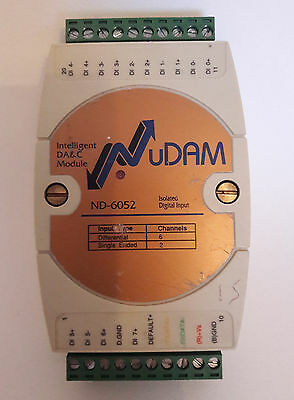 NuDAM    ND-6052  8 channel Isolated Digital Input Module