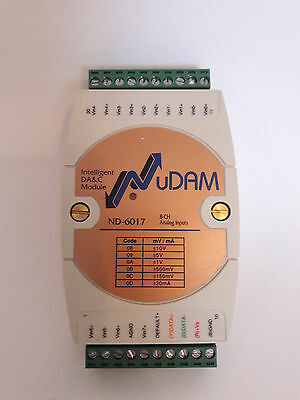 NuDAM    ND-6017  8 channel analog output module