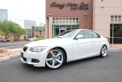 2012 BMW 3-Series Base Coupe 2-Door 2012 Bmw 335I  Pearl White Loaded Only 32K Low Miles Sports Package