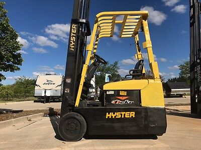 2008 Hyster 3000 Pound 3 wheel forklifts(4) WE WILL SHIP! Narrow isle-BUDGETLIFT