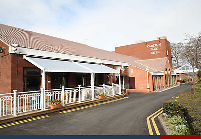 Two Night for two at Carlton Park Hotel, Rotherham, S. Yorkshire. Inc.breakfast