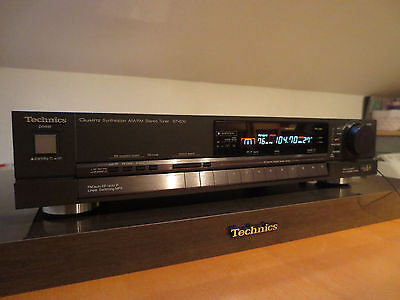 Technics ST-G70 QUARTZ SYNTHESIZER FM/AM STEREO TUNER 39MEMORY CLASS AA WIE NEU!