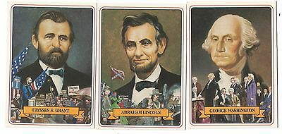 1984 Campbell Taggart Inc. Complete 42 Card Set Know The Presidents