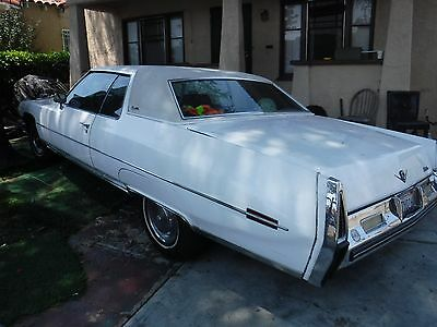1973 Cadillac DeVille compleat 1973 cadillac