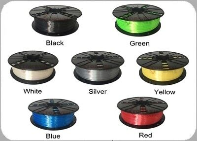Quality Torwell Silk 3D printer filament - 1.75mm or 3mm (7 colours)
