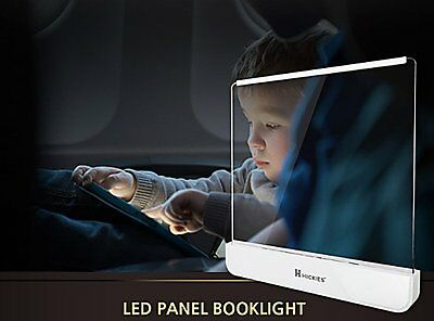 LED Light Panel Book Light Reading book page Light, Reading Lamp NIB
