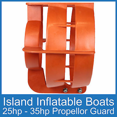 OUTBOARD PROPELLER GUARD ● Fits 25HP up to 35HP Motors ● Boat Safety Protection