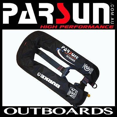 INFLATABLE LIFEJACKET PARSUN Level 150N PFD1  BURKE Manual Life jacket FREE POST