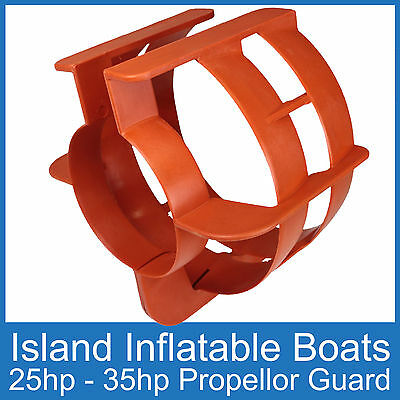 OUTBOARD PROPELLER GUARD ● Fits 25HP up to 35HP Motors ●Boat Safety FREE POSTAGE