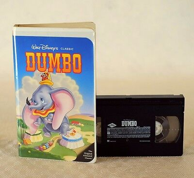 Rare Walt Disney Classic Dumbo VHS in perfect condition