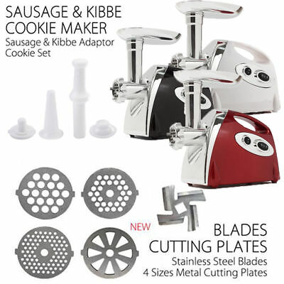 2800W Electric Meat Grinder Sausage Stuffer Maker Stainless Cutter Home New