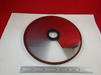 Optical Variable Beam Splitter Neutral Density Wheel Optics As Pictured &p5-B-02