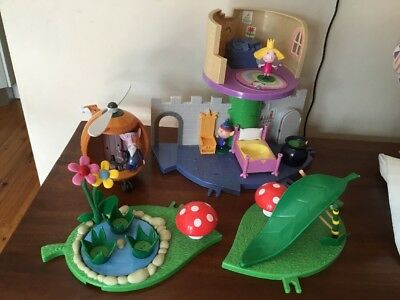 Ben And Holly Toys Castle Old Wise Elf Helicopter Pick Up Lane Cove West