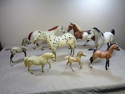 8 Breyer Horses Collection Ponies Large Size Models Lot